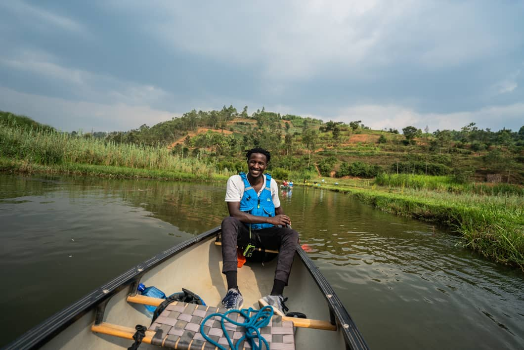 Musanze-based water sports tour guide sees light at the end of the tunnel