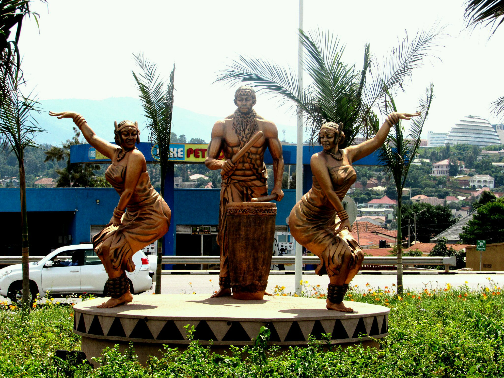 Traditional dance forms an integral part of the Rwandan culture