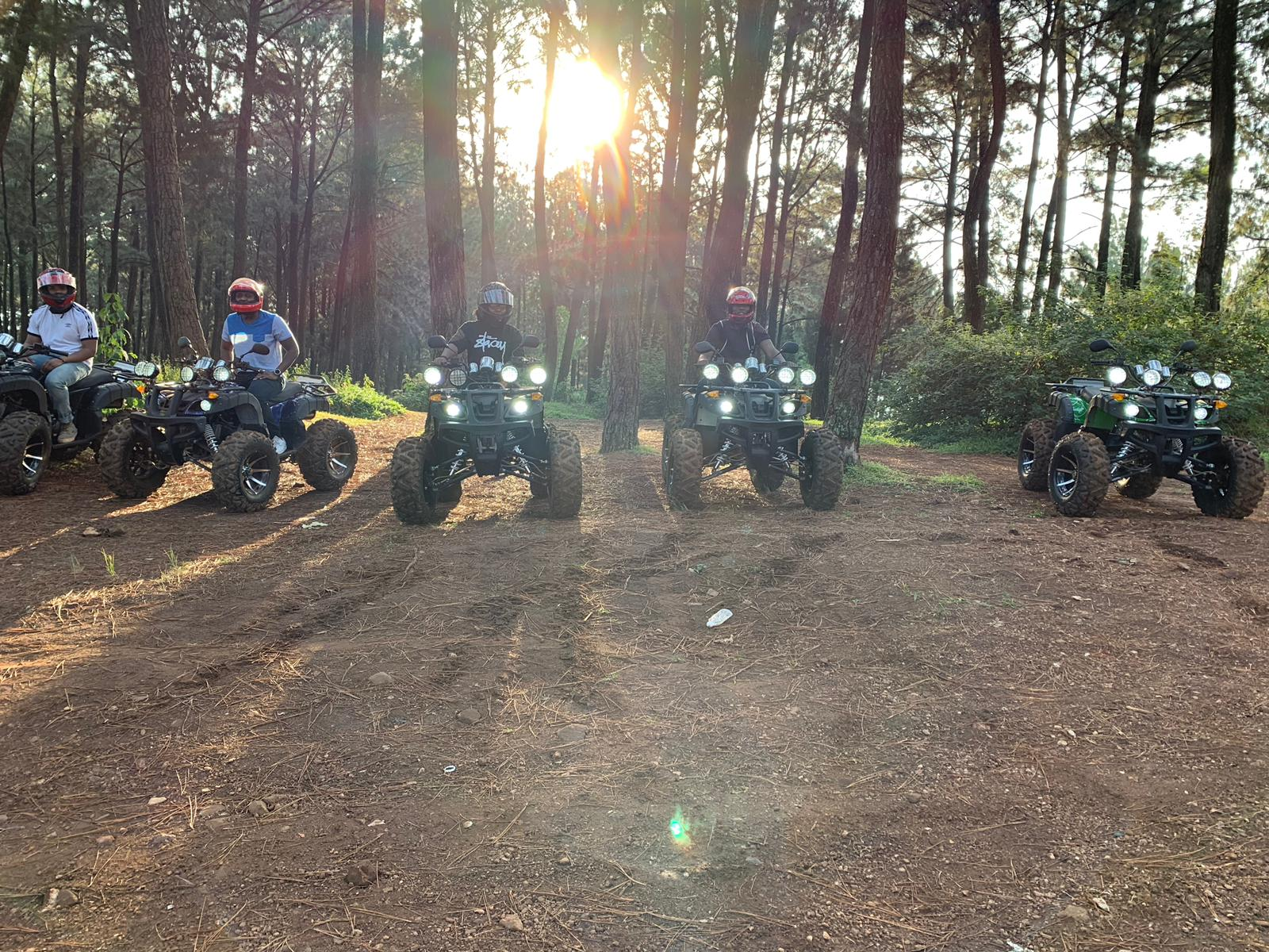 The thrill of quad biking